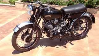 Download 1955 Vincent Black Shadow Series D Video