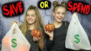 Download Trying Halloween Dollar Store Products ~ Save or Spend ~ Jacy and Kacy Video