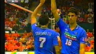Download 1996 FIVB World League NED - ITA set 5 Video