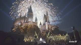 Download [4K] Grand Opening of The Wizarding World of Harry Potter Fireworks at Universal Studios Hollywood Video
