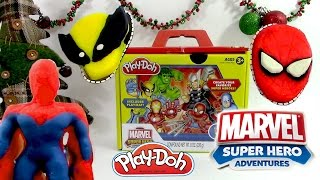 Download Pâte à modeler Super Héros de Marvel Spiderman Incroyable Hulk Ironman Wolverine Thor Playdoh Video
