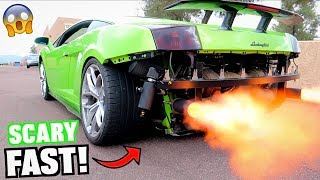 Download Driving My 2000HP Lamborghini For The FIRST TIME! (Rebuild Complete) Video