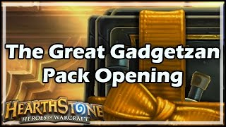 Download [Hearthstone] The Great Gadgetzan Pack Opening Video