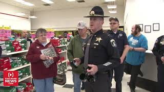 Download Cop hijacks intercom at local Kmart for unexpected announcement Video