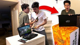 Download I Destroyed a Kids FORTNITE Gaming Setup & SURPRISED Him w/ a NEW One!! Video