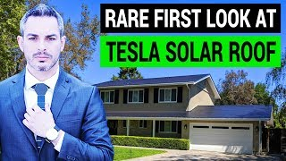 Download Tesla Solar Roof: A Rare First Look Video