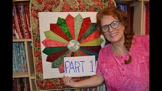 Download EPISODE 45 - Part 1 (of 2) Dresden Plate Wall Hanging Tutorial Video