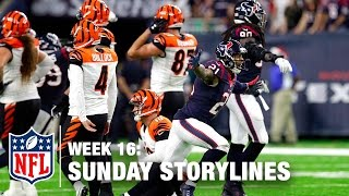 Download Sunday's Best (and Worst) Moments from Christmas Weekend 🎄 | NFL Week 16 Sunday Storylines Video