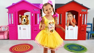 Download Diana and Funny dog toy Video