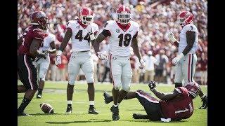 Download #3 Georgia Highlights Vs. #24 South Carolina 2018 | CFB Week 2 | College Football Highlights 2018 Video