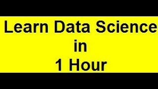 Download data science course for beginners Video