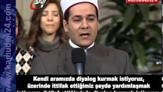 Download Mısır'da bir imamın, kilisede ayakta alkışlanan konuşması Video