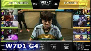 Download OpTic Gaming vs FlyQuest | Week 7 Day 1 S8 NA LCS Summer 2018 | OPT vs FLY W7D1 Video
