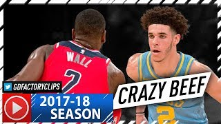 Download Lonzo Ball vs John Wall CRAZY PG Duel Highlights (2017.10.25) Lakers vs Wizards - MUST SEE! Video