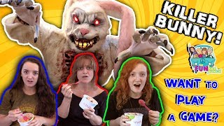 Download FUNNY SKIT BUNNY... IN THE WOODS REVENGE...PRANK, FUNKEE BUNCH DOES IT AGAIN!! Video