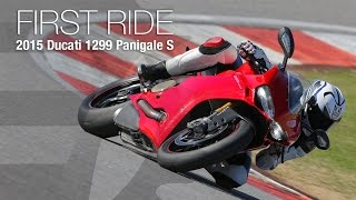 Download 2015 Ducati 1299 Panigale S First Ride - MotoUSA Video