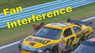 Download Fan Interference in NASCAR Video