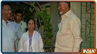 Download Andhra Pradesh CM N Chandrababu Naidu meets West Bengal CM Mamata Banerjee in Kolkata Video