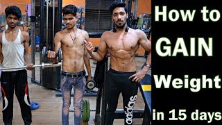 Download How to Gain Weight in 15 Days (Men & Women) Naturally   Full Diet Plan Video