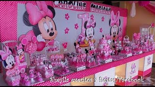 Download Decoración de Minnie bebe, mesa temática de dulces, fiesta infantil, candy, cumpleaños, party Video