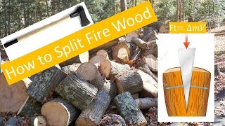 Download How to Split Firewood Video