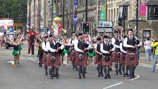 Download Perth Salute Scotland 2017 - Parade including visiting India & Japan bands from Edinburgh Tattoo Video