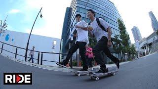 Download Skating in Tokyo, Japan with Hirotoshi Kawabuchi, Laurence Keefe & More! Video