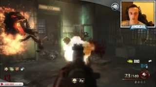 Download Mob Of The Dead - Round 35 Speed Run! Gameplay/Tutorial! w/Syndicate! Video