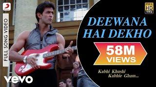 Download K3G - Deewana Hai Dekho Video | Kareena Kapoor, Hrithik Roshan Video