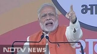 Download PM Narendra Modi Warns Those Stashing Black Money Into Jan Dhan Accounts Of Poor Video
