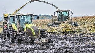 Download JOHN DEERE Traktoren im Schlamm | Schlammschlacht | Maishäckseln | Claas Jaguar | Fendt Traktoren Video