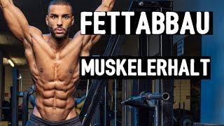 Download Wie baut man Fett ab und hält gleichzeitig die Muskulatur ? KÖNIGSDISZIPLIN!! Video