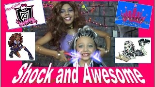 Download New Real Live Monster High | 'Shock and Awesome' - Creative Princess Video