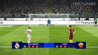 Download PES 2019 | REAL MADRID vs ROMA | Penalty Shootout | UEFA Champions League | Gameplay PC Video