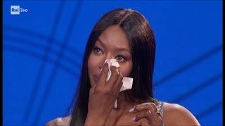 Download Le lacrime di Naomi Campbell - Che tempo che fa 12/03/2017 Video