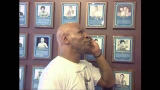 Download Mike Tyson tours the International Boxing Hall of Fame Video
