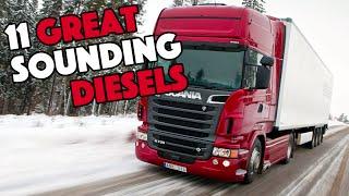 Download 11 Great Sounding Diesel Engines Video