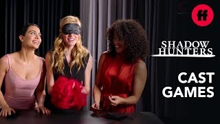 Download Shadowhunters Cast Playing Games | ″Guess The Item″ | Freeform Video