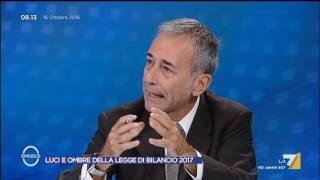 Download Omnibus - Luci e ombre della Legge di Bilancio 2017 (Puntata 16/10/2016) Video