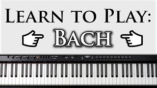 Download Learn to Play Bach's Prelude in C Major: Beginner Piano Lesson Video Video