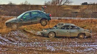 Download CHEVY Cavalier JUMPS FORD Contour! Video