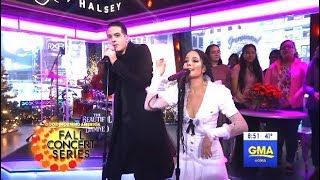 Download G-Eazy & Halsey Perform ″Him & I″ (GMA LIVE) Video