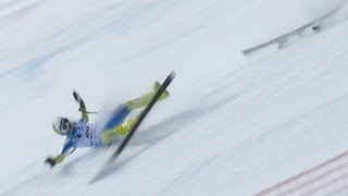 Download 2012's Alpine Skiing Crashes - Universal Sports Video