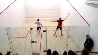 Download World number 1 Squash Player James Willstrop vs Indian Champion Saurav Ghosal Video