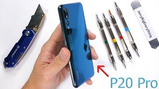 Download Huawei P20 Pro Durability Test! - Scratch, Burn, BEND TESTED Video