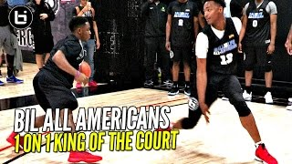 Download BIL All Americans 1 on 1 King of The Court! LiAngelo Ball, Chris Lykes & More! Who You Got!? Video