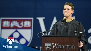 Download Stu Barnes-Israel, Student Speaker | Wharton MBA Graduation 2018 Video