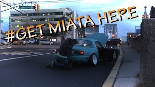 Download Stanced Miata Breaks Down (in multiple ways) Video
