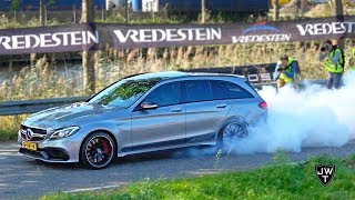 Download Mercedes-AMG C63 S Estate MADNESS! BURNOUTS, Revs, Accelerations & More! Video
