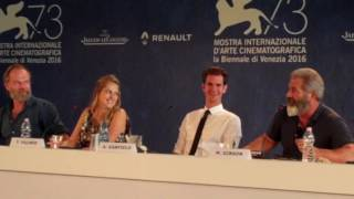 Download Mel Gibson 'Hacksaw Ridge' Press Conference Venice Film Festival 2016 Video